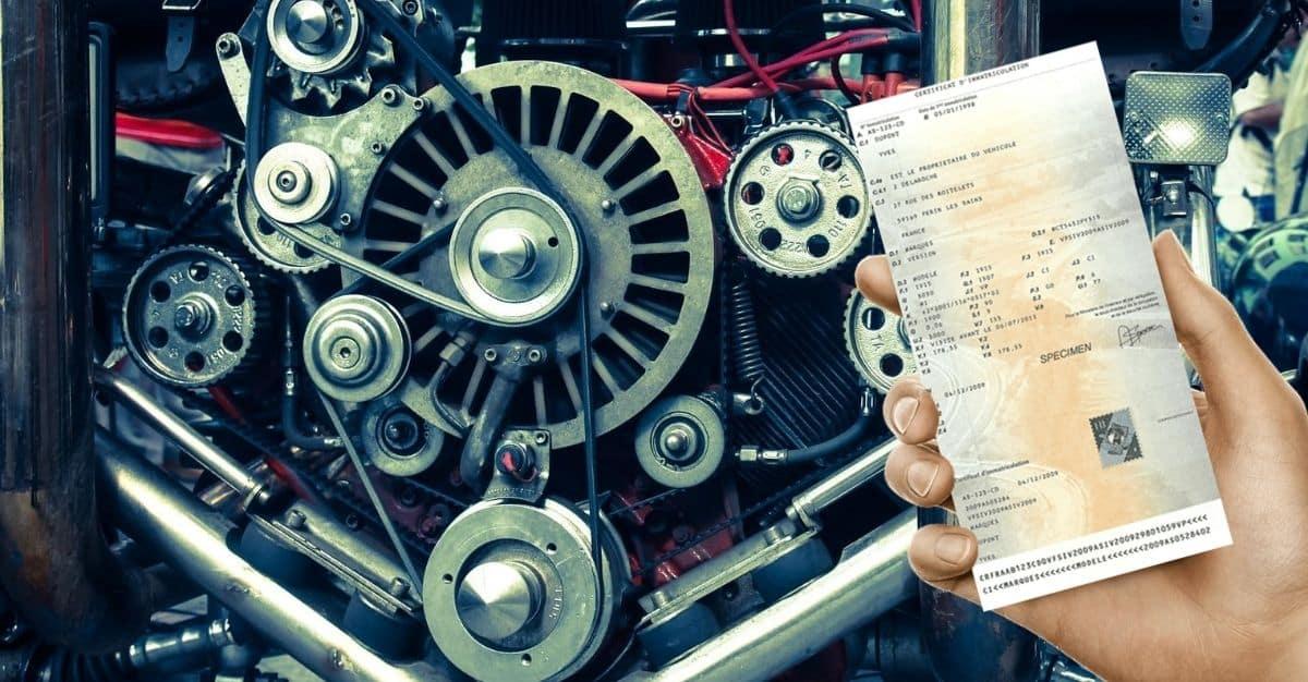 code moteur voiture